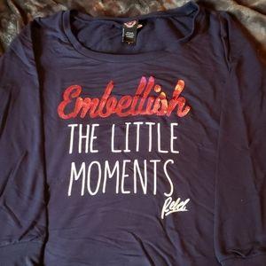 "Torrid ""Rebel Wilson"" embellish sweatshirt"